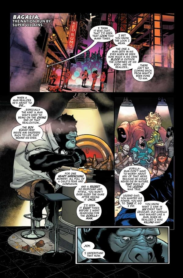 Interior preview page from AVENGERS #48