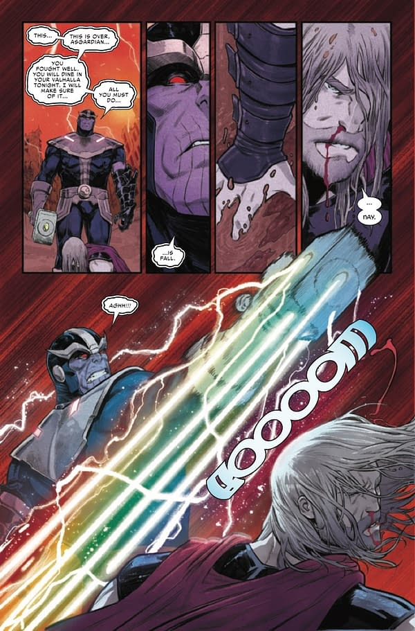 Interior preview page from THOR #16