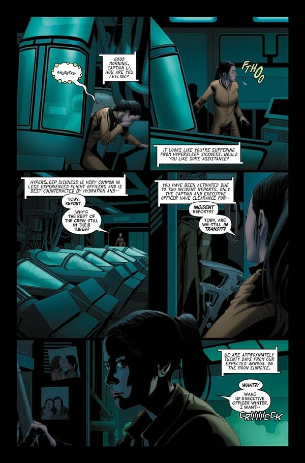 Interior preview page from ALIEN #7