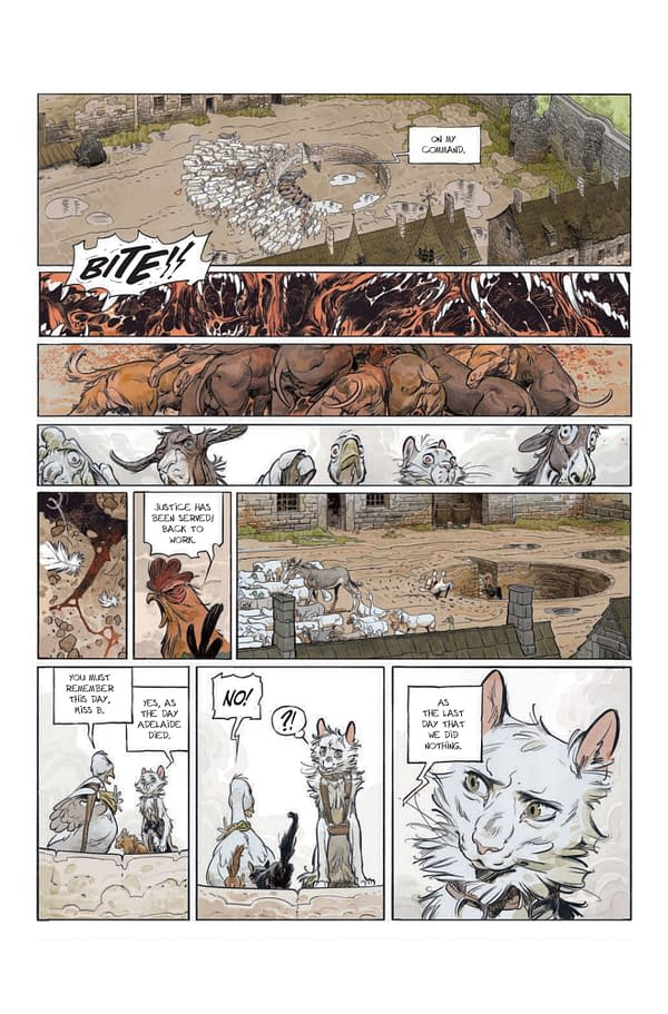 Animal Castle: ABLAZE Launches Orwellian New Series on December 1st
