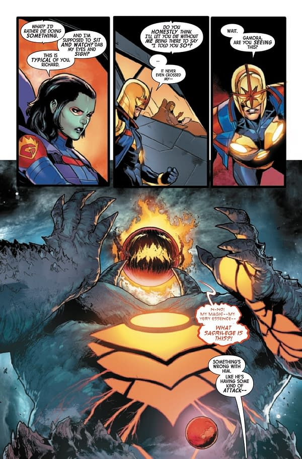 Interior preview page from GUARDIANS OF THE GALAXY #18 ANHL