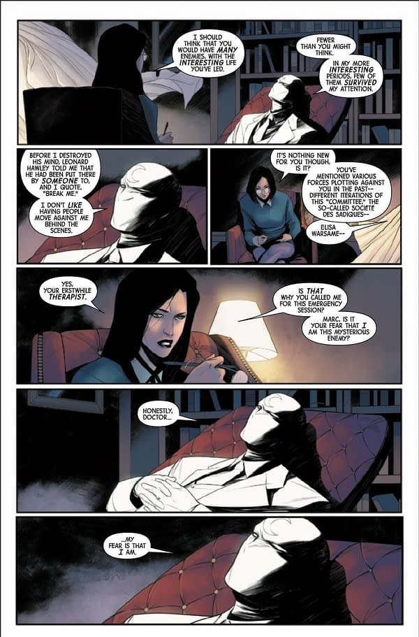 Interior preview page from MOON KNIGHT #3