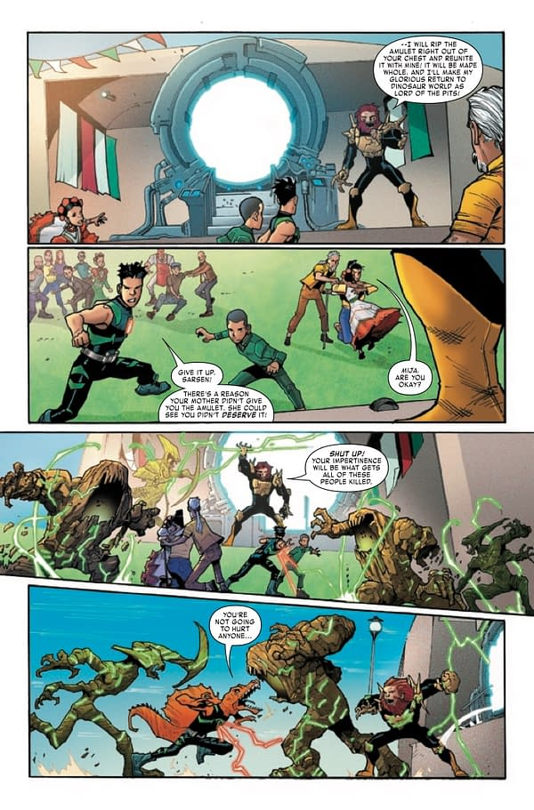 Interior preview page from REPTIL #4 (OF 4)