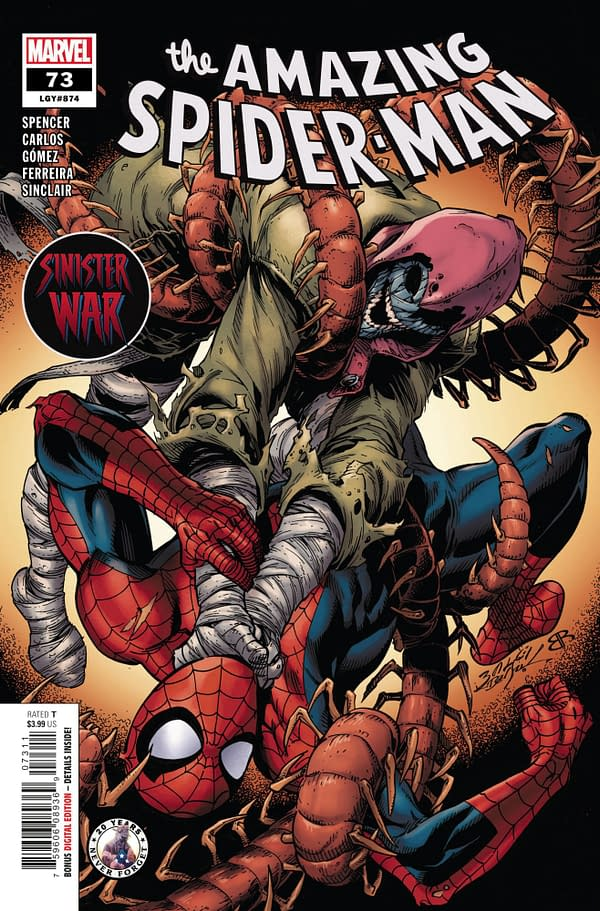 Cover image for AMAZING SPIDER-MAN #73 SINW