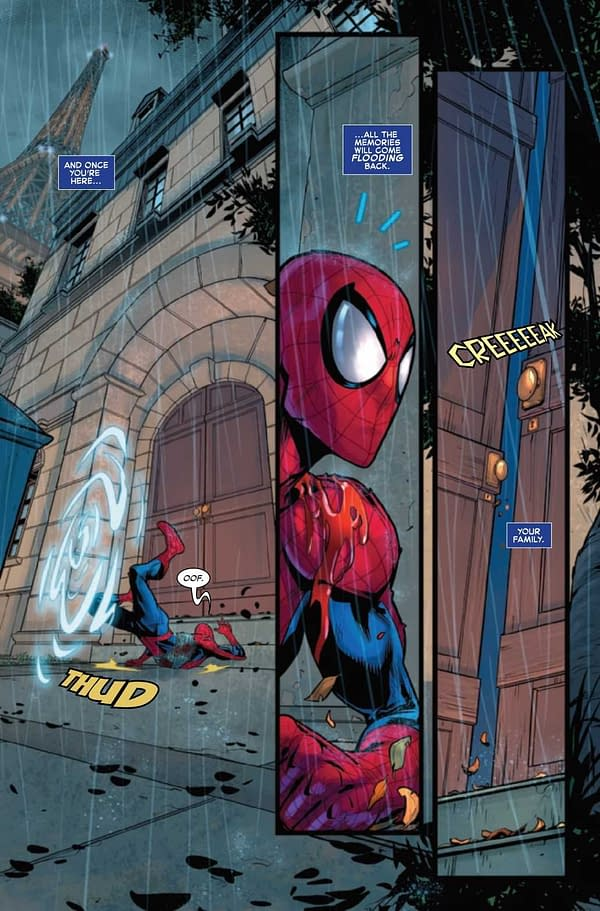 Interior preview page from AMAZING SPIDER-MAN #73 SINW