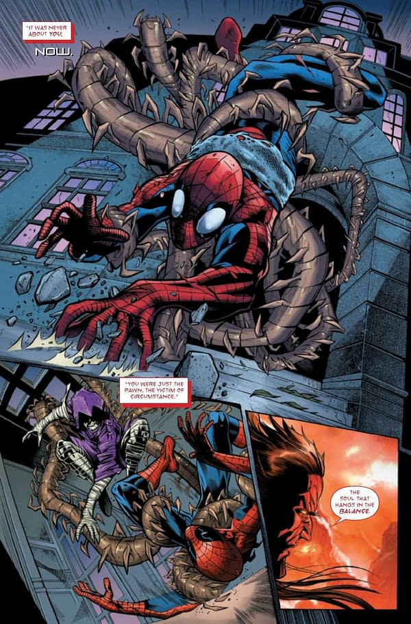 Interior preview page from AMAZING SPIDER-MAN #74