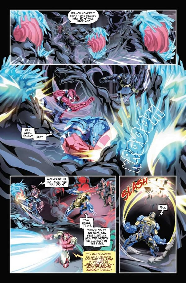 Interior preview page from AVENGERS TECH-ON #2 (OF 6)