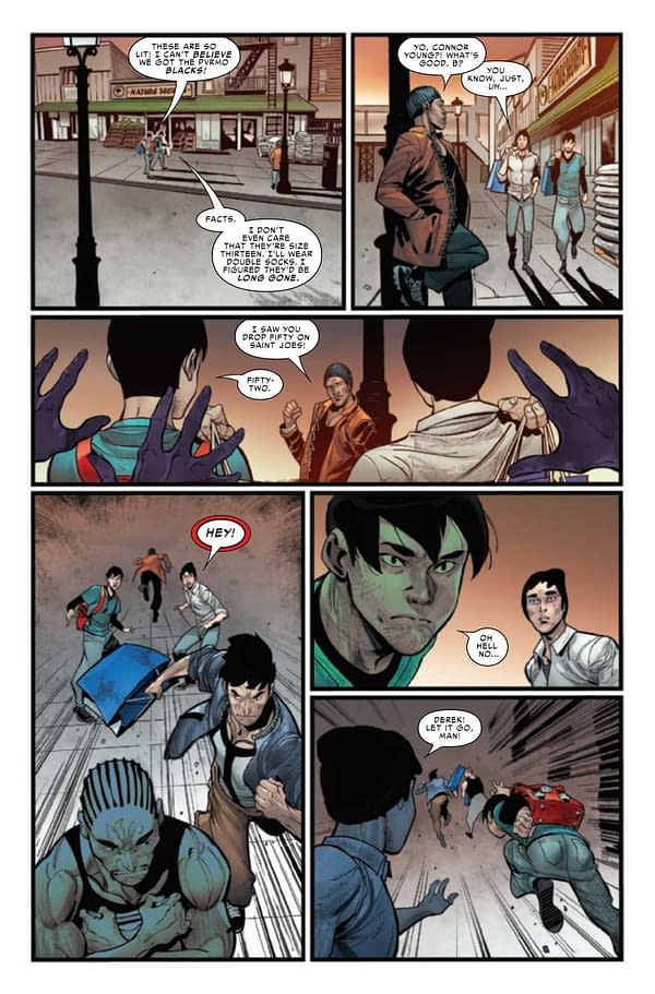 Interior preview page from DARKHAWK #2 (OF 5)