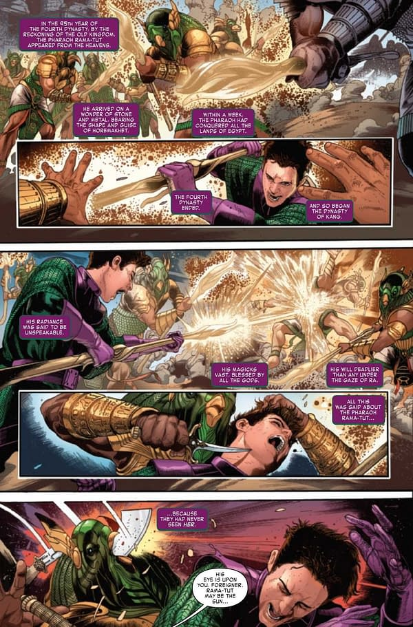 Interior preview page from KANG THE CONQUEROR #2 (OF 5)