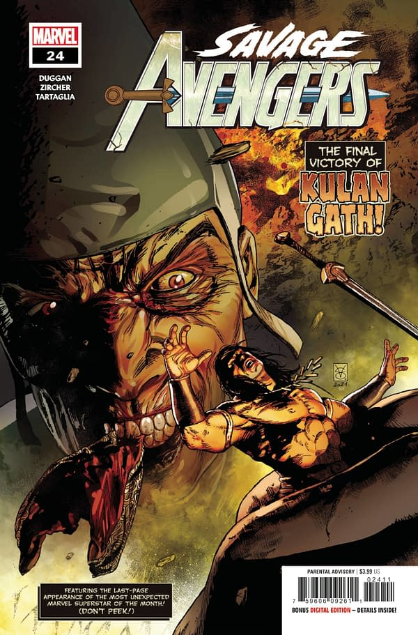Cover image for SAVAGE AVENGERS #24