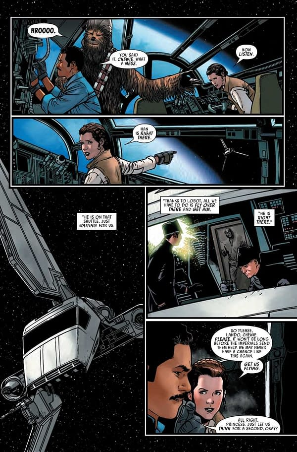 Interior preview page from STAR WARS #17 WOBH
