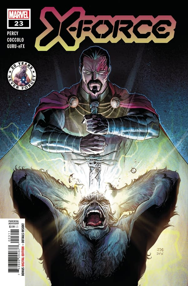 Cover image for X-FORCE #23