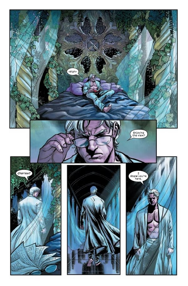 Interior preview page from X-MEN TRIAL OF MAGNETO #2 (OF 5)