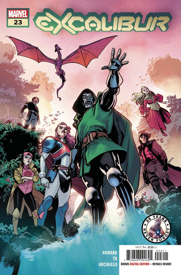 Cover image for EXCALIBUR #23