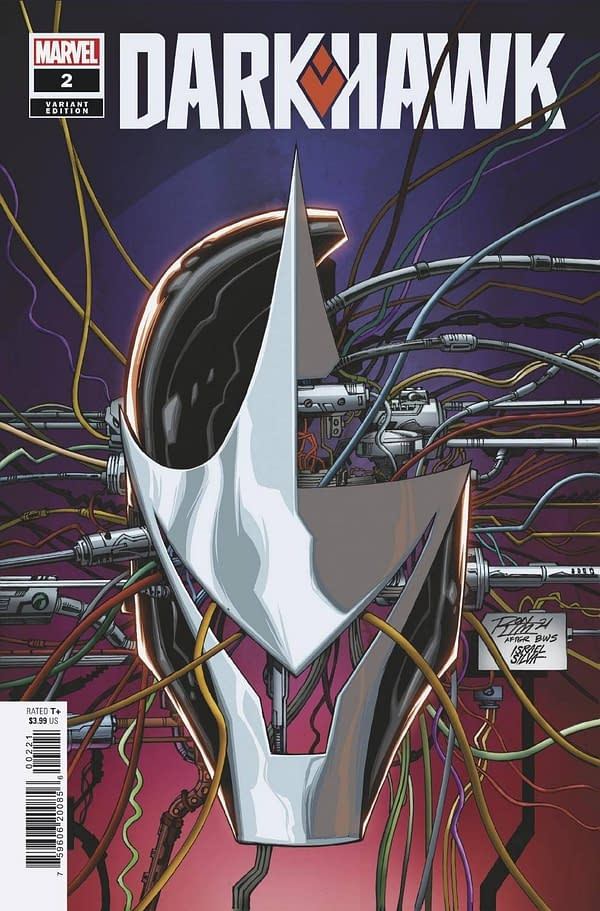 Cover image for DARKHAWK #2 (OF 5) RON LIM VAR