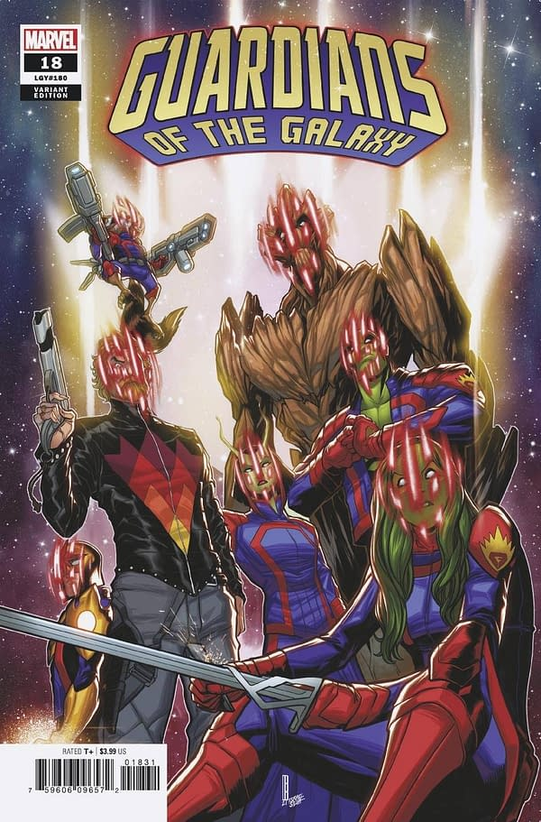 Cover image for GUARDIANS OF THE GALAXY #18 BALDEON VAR ANHL