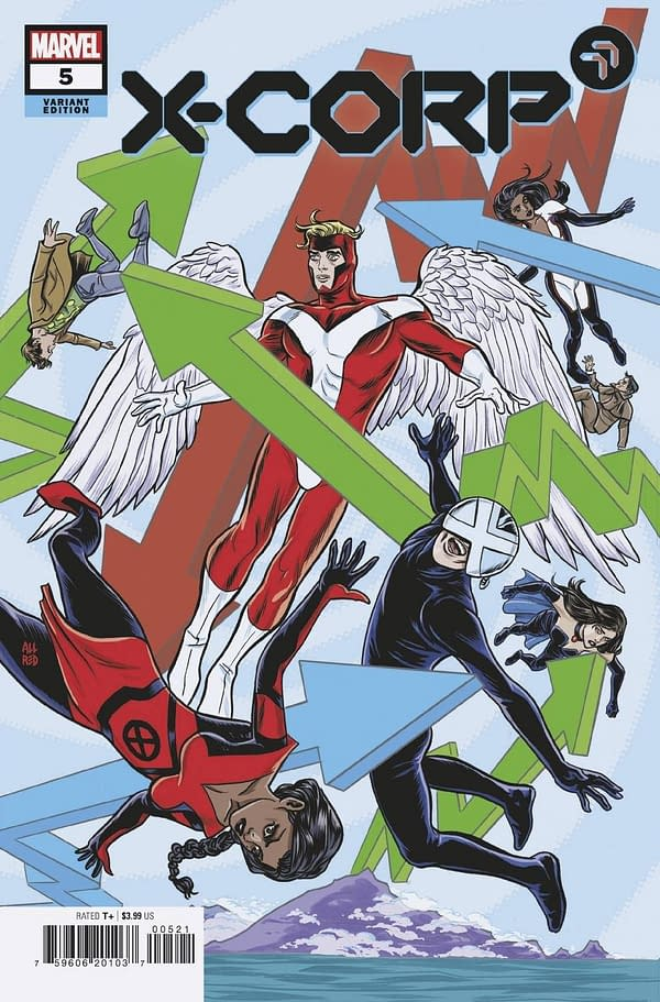 Cover image for X-CORP #5 ALLRED VAR