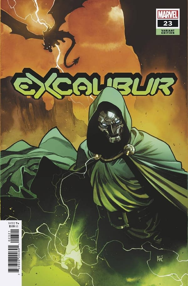 Cover image for EXCALIBUR #23 RUAN VAR