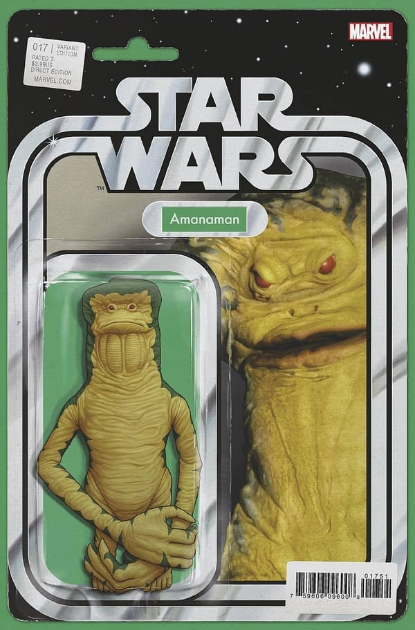 Cover image for STAR WARS #17 JTC ACTION FIGURE VAR WOBH