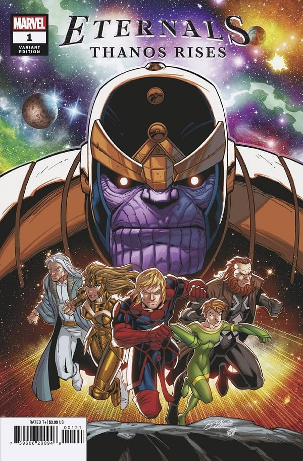 Cover image for ETERNALS THANOS RISES #1 RON LIM VAR
