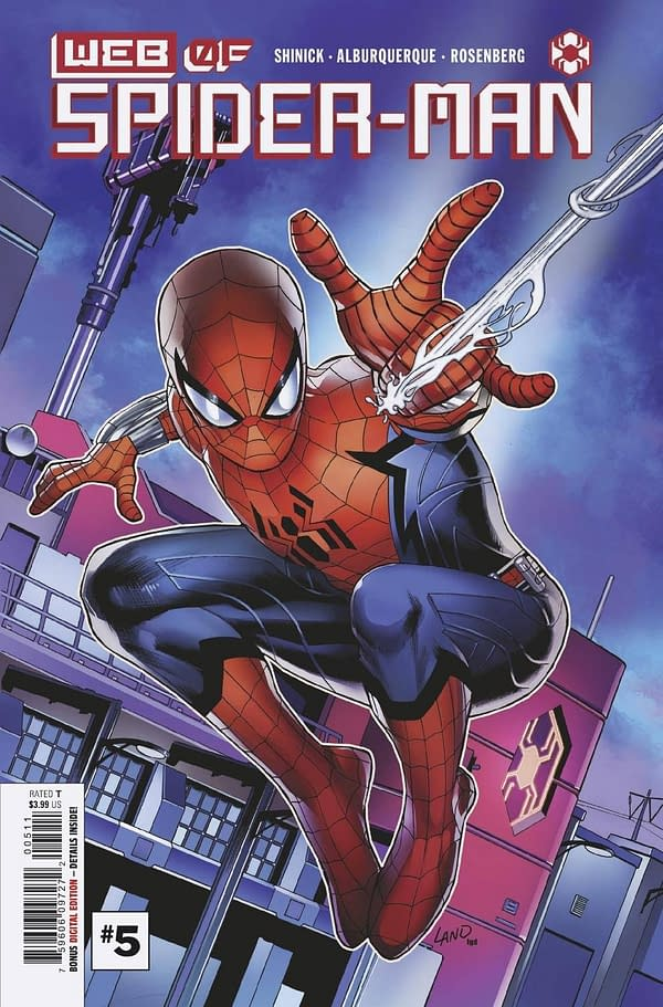Cover image for WEB OF SPIDER-MAN #5 (OF 5)