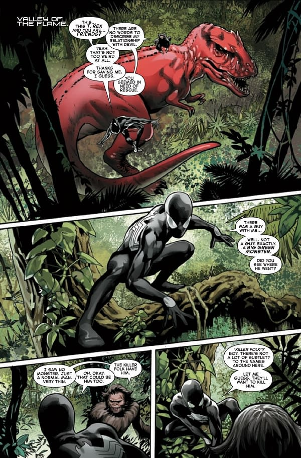 Interior preview page from SYMBIOTE SPIDER-MAN CROSSROADS #3 (OF 5)