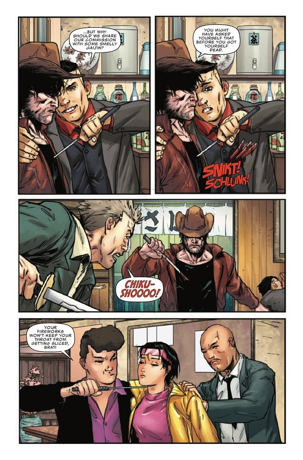 Interior preview page from X-MEN LEGENDS #7