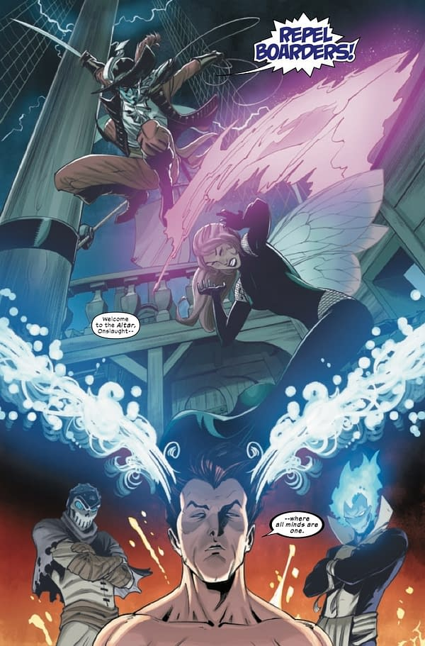 Interior preview page from X-MEN ONSLAUGHT REVELATION #1