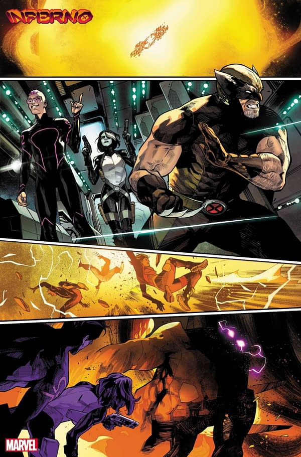 Krakoan Gossip And Sneak Peeks At Upcoming X-Men And Inferno Comics