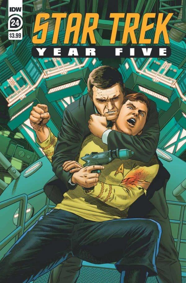 Star Trek Year Five #24 Review: Spectacular