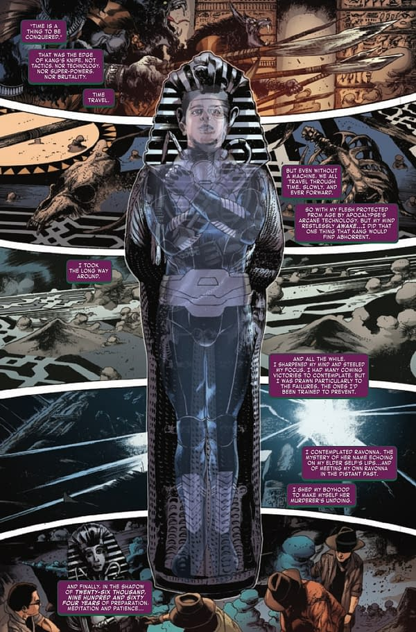 Interior preview page from KANG THE CONQUEROR #3 (OF 5)