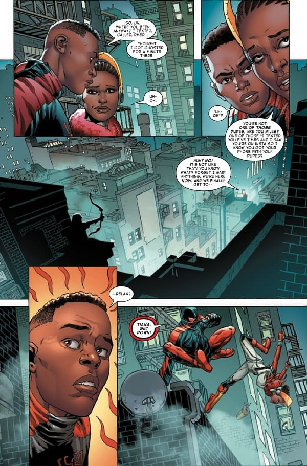 Interior preview page from MILES MORALES SPIDER-MAN #31
