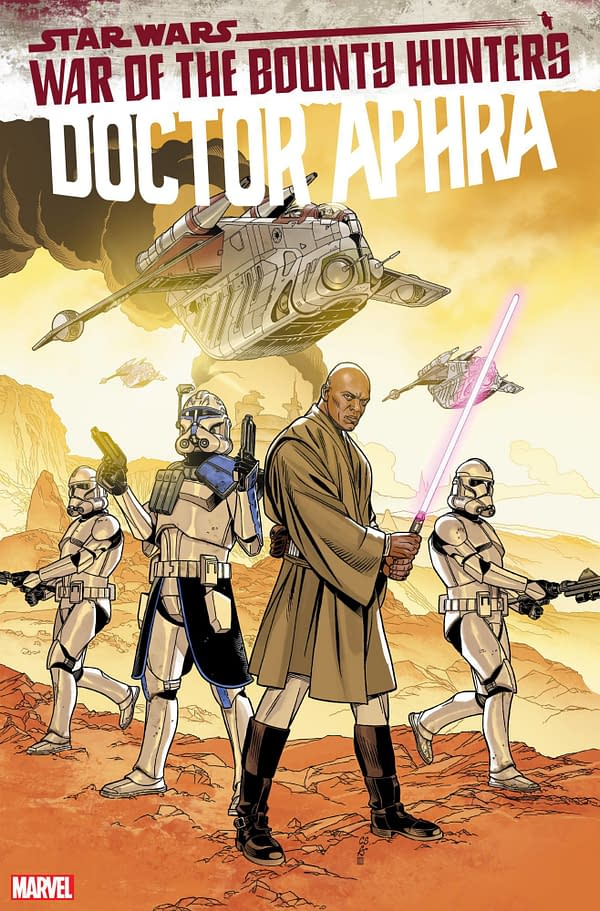 Cover image for STAR WARS DOCTOR APHRA #15 SPROUSE LUCASFILM 50TH VAR WOBH