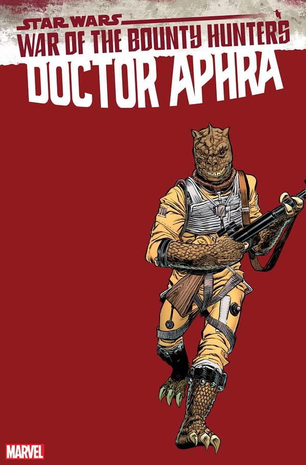 Cover image for STAR WARS DOCTOR APHRA #15 FRENZ HANDBOOK VAR WOBH