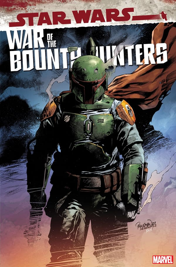 Cover image for AUG211237 STAR WARS WAR OF THE BOUNTY HUNTERS #5 (OF 5) PAGULAYAN VAR, by (W) Charles Soule (A) Luke Ross (CA) Carlo Pagulayan, in stores Wednesday, October 13, 2021 from MARVEL COMICS