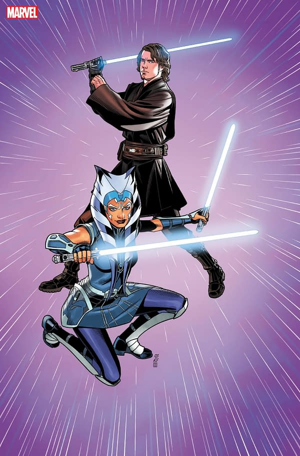 Cover image for JUL219368 STAR WARS WAR OF THE BOUNTY HUNTERS #5 (OF 5) LUCASFILM 50TH VAR, by (W) Charles Soule (A) Luke Ross (CA) Chris Sprouse, in stores Wednesday, October 13, 2021 from MARVEL COMICS