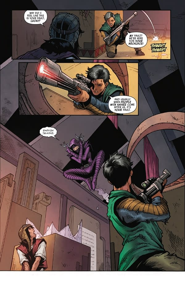 Interior preview page from STAR WARS DOCTOR APHRA #15 WOBH