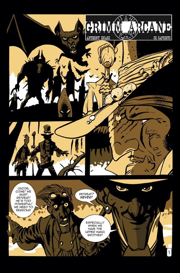 DHP3 #13 Grimm Arcane PG 01