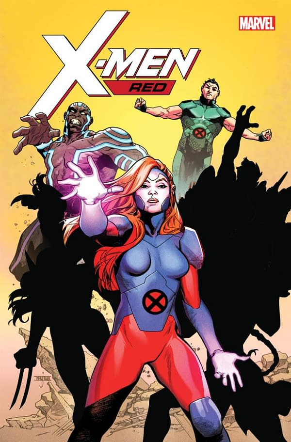 Namor And Gentle Join The Cast Of Marvel's X-Men Red