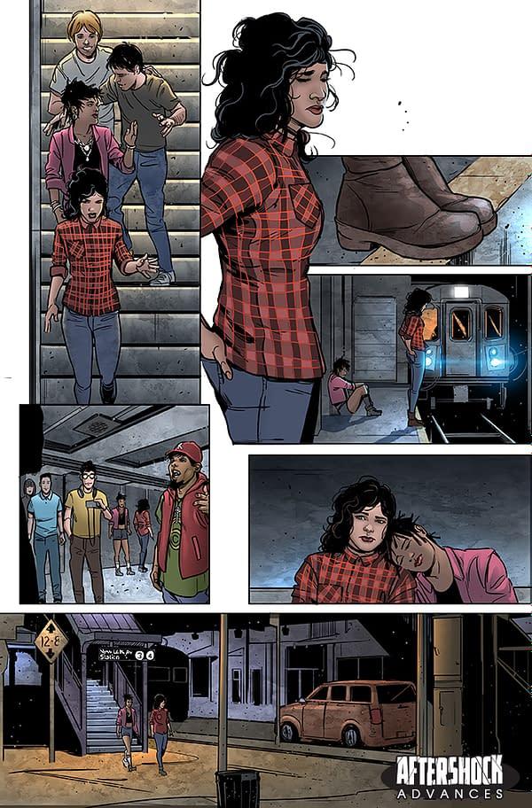 Zack Kaplan and Alvaro Sarraseca Launch Lost City Explorers from AfterShock Comics