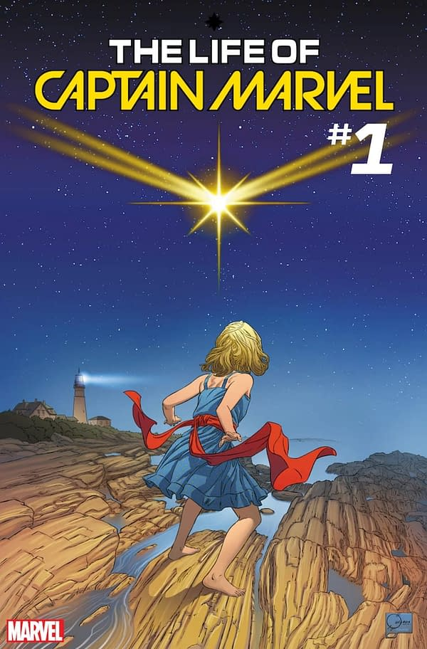 Joe Quesada Covers Life of Captain Marvel #1, Takes Joint Creative Custody of Book