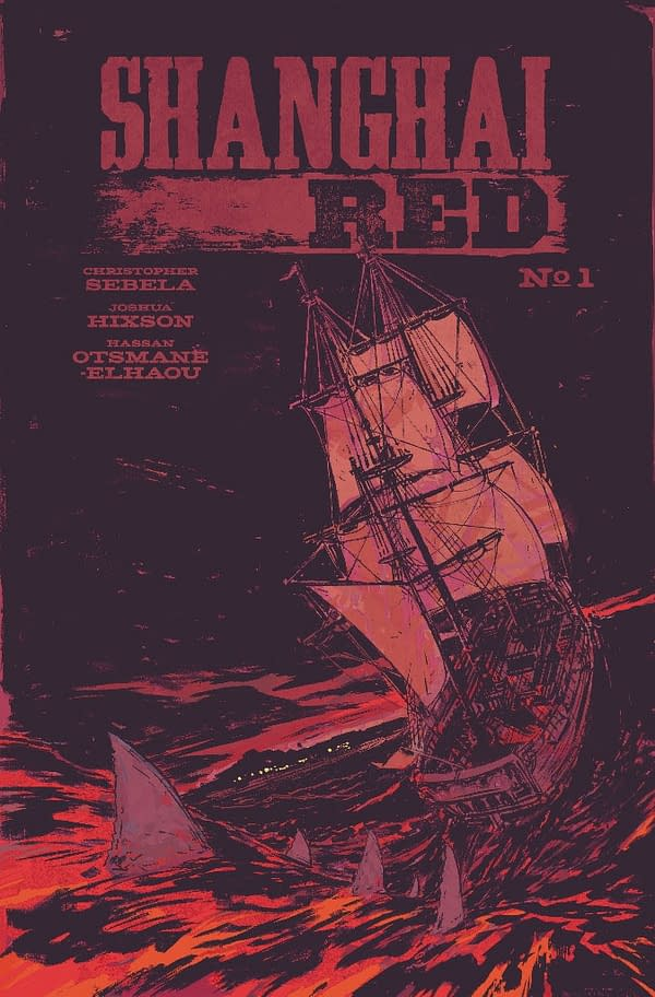 Christopher Sebela and Joshua Hixson Launch Shanghai Red from Image in June