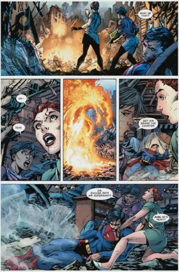 The First 4 Pages of Bendis and Jim Lee's Action Comics #1000 – and the New Villain