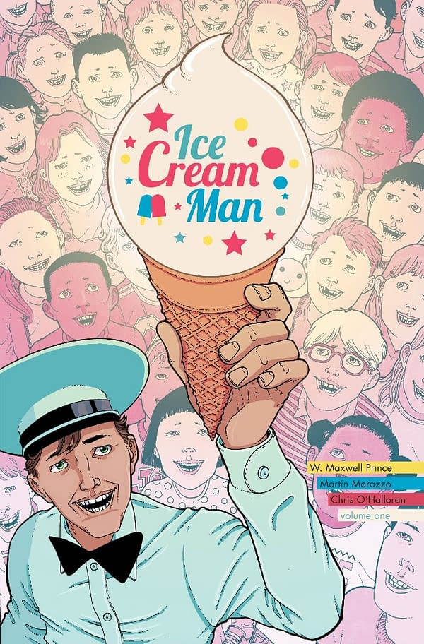 Missing Great Opportunity, Image Comics Releases Plain Vanilla Ice Cream Man TPB in June