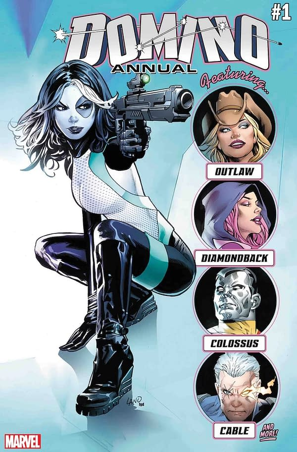 All-Star Cast and All-Star Creators Set for September's Domino Annual #1