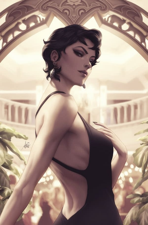 Stanley 'Artgerm' Lau's New Catwoman #3 Variant Cover