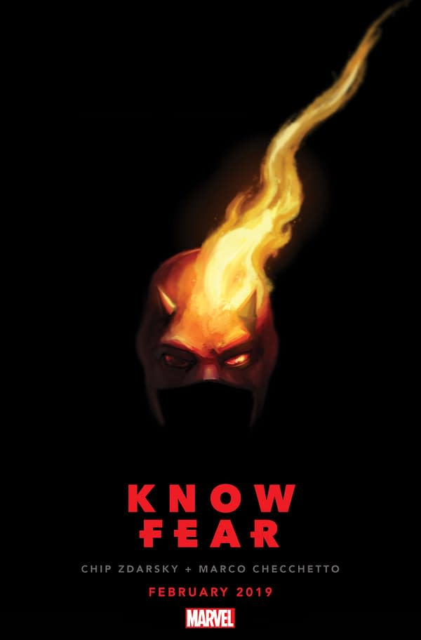 Chip Zdarsky and Marco Checchetto Relaunch Daredevil #1 in February