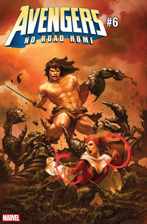 Conan Joins the Avengers in March's No Road Home #6