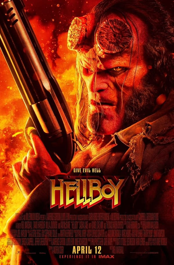 3 New Images From 'Hellboy', Including The Blood Queen!