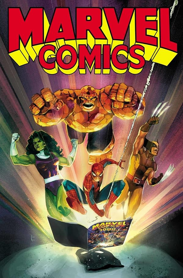 Marvel Frontloads Marvel Comics #1001 Announcement with More Women, Less Al Ewings